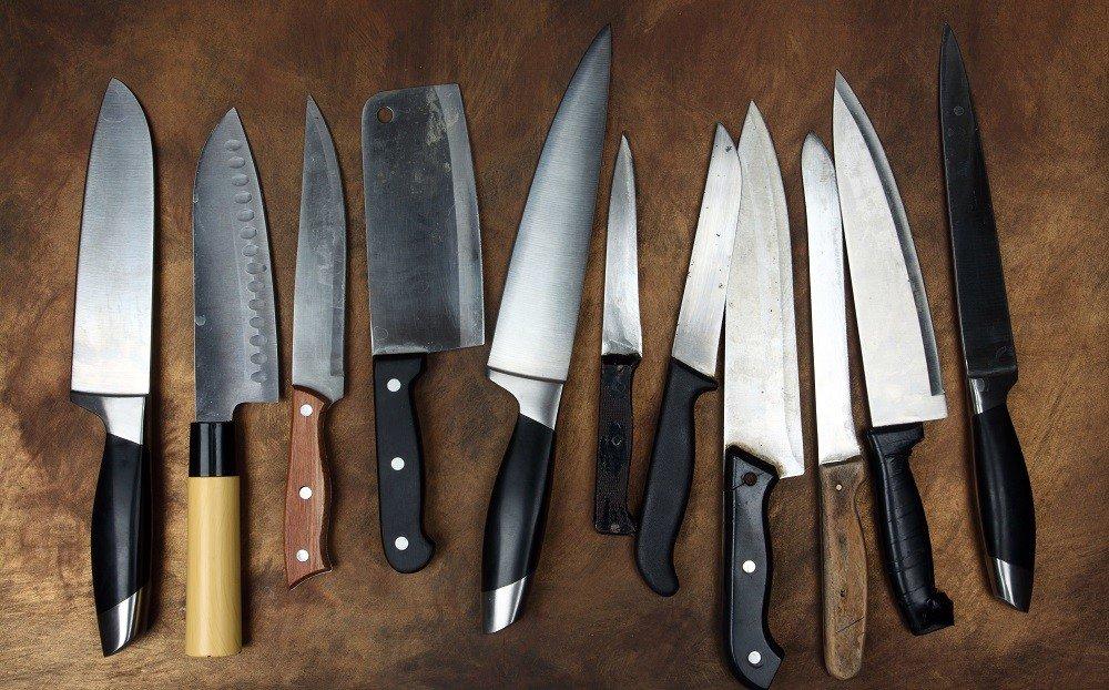 verschiedene Messer für verschiedene Anwendungen.