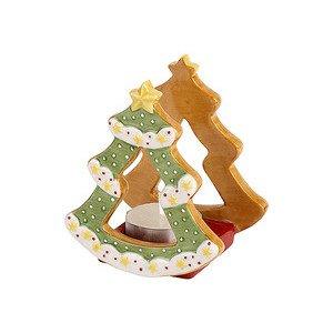 Teelichthalter 8x7x9cm Tannenb Winter Bakery Decoration - Villeroy & Boch