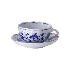 """Teetasse mit Untertasse 220 ml rund """"Blau Zwiebelmuster"""" - Hutschenreuther"""
