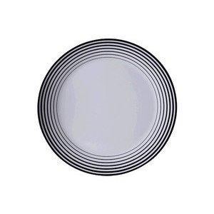 """Gourmetteller 32 cm rund """"Tric Straight Black"""" schwarz - Arzberg"""
